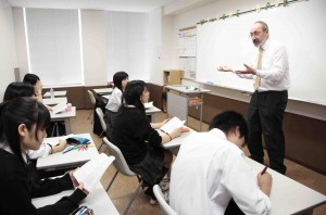 インター英文学授業